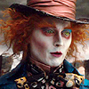 jedibuttercup: Johnny Depp as the Mad Hatter (hatter)