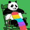 locker_monster: (Knitting Panda)
