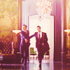 "misqueue: Blaine takes Kurt's hand and a shortcut in ""Never Been Kissed"" (glee - blaine & kurt dalton hallway NBK)"