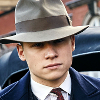thatyourefuse: Michael Gray from Peaky Blinders, doing the iconic gangster thing. ([pb] big man with a gun)