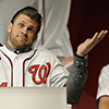 cyprinella: Bryce Harper shrugging with his hand up (bryce shrug)