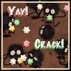 thatspants: soot sprites ghibli (yay crack!)