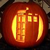 platypus: (DW - TARDIS pumpkin - bright)