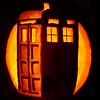platypus: (pumpkin - TARDIS (dim))