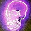 black_black_heart: (Velvet Lust - Skull)