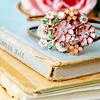 ladyzi: (pretty things - books & broach)
