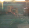 simrob: selfie with a digital camera using reflection in a train window (train)