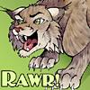tuftears: Lynx Rawr (Angry)