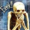 corbeau: (Eek, Laughing, Skeleton)