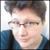 sebastienne: My default icon: I'm a fat white person with short dark hair, looking over my glasses. (Default)