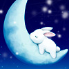 inkstain: ([Misc] Rabbit in the Moon)