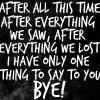 platypus: (dw - bye)