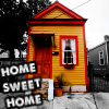 "kass: little house; words ""home sweet home"" (home sweet home)"
