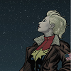 tinctoriawoad: Carol Danvers looking up at a starry sky (carol)