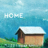 "kass: A house on a hill; the word ""home."" (little home)"