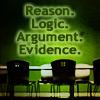 wendelah1: words: Reason. Logic. Argument. Evidence. (the opposite of Trump)