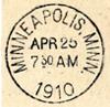 minnehaha: (postmark)