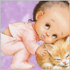 youngcaesar: (baby and cat)
