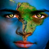 flwyd: (earth eyes south america face)