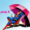 cavaleira: (pink K)