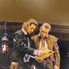 yunitsa: Rosencrantz and Guildenstern look at a letter together (ros & guil)