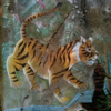 oceloty: (painted tiger)