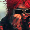 chokolattejedi: Party Poison with his goggles and bandana on (DD - Poison Red)