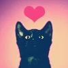 m_cobweb: (black cat love)