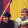 mamoru: Merlin and Arthur smiling (Default)