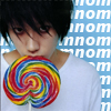 jumper_on: (matsuken loves candy)