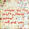 fireandearth: (pretty floral bonnet)