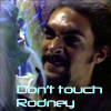 kyanoswolf: (dont touch rodney)
