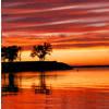 kyanoswolf: (kansas sunset on lake)