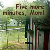 kyanoswolf: (five more minutes)