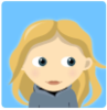 kaylin881: cartoon approximation of me without my glasses (Default)