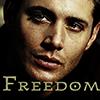meus_venator: (Freedom - Dean)