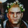 toffeecat: Varric Tethras in a flower crown (Ao3profilecrosspost001)