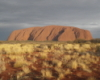 juliet: Uluru, NT, Australia, just before sunset (australia - uluru)
