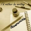 """bowtrunckle: (""""Rather be writing"""")"""