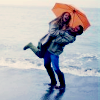 bowtrunckle: (Hugging on the beach)