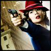 sgamadison: (Agent Carter with Gun) (Default)