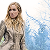 sholio: Sara among winter trees (Legends of Tomorrow-Sara)