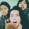antpower: (嵐 大宮 + jun with puppy)