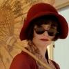 jain: (miss fisher sunglasses and parasol)