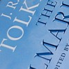 ysilme: Detail of book title of a Silmarillion edition. (Tolkien)