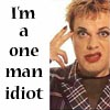 freewaydiva: (One Man Idiot)