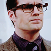 shopfront: Source: Batman Vs Superman. Clark in glasses looking very cranky (DC - [Clark] gonna see through your lies)