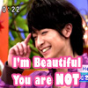 yamachine801: ([chinen]he's prettier than us.)
