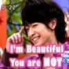 yamachine801: ([chinen]he's prettier than us.)