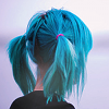 vespera: (Blue Pigtails)